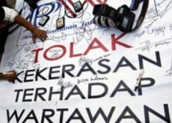 Ilustrasi Kekerasan terhadap Jurnalis (Padang Kita)