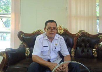 Kepala Dinas Lingkungan Hidup Kabupaten Gorontalo Utara, Ilyas Lagarusu. (Foto: Usman 60DTK)