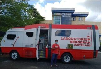 Provinsi Gorontalo Dapat Kendaraan PCR Mobile dari Kemenkes