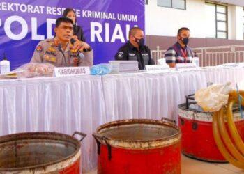 Polda Riau Ungkap