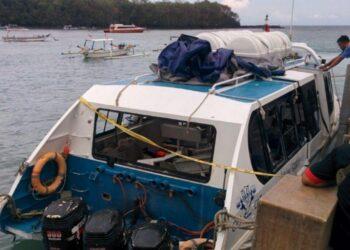 Kecelakaan Kapal Motor di Perairan Bali Tahun 2016 Silam (Liputan6.com/Dewi Divianta)