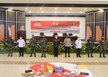 Gubernur Gorontalo Terkesan Sambutan Pangdam XIII Merdeka di Manado