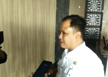Sekretaris Dewan Perwakilan Rakyat Daerah (DPRD) Kota Gorontalo, N.R Monoarfa