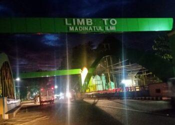 Ornamen Limboto Madinatulilmi. (Foto : Istimewa).