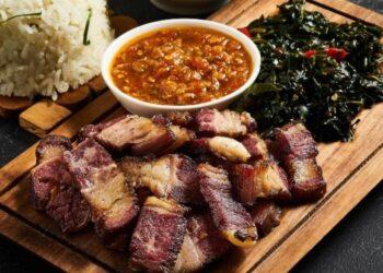 Se'i Sapi makanan khas tanah Timor. (Foto : Sindotravel.com).