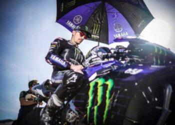 Maverick Vinales di MotoGP 2020 (Foto: MotoGP).
