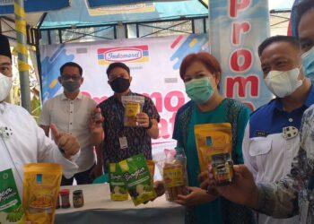 Hamim Pou selaku Bupati Bonebol, usai Penandatanganan MOU antara Pemkab Bonebol dengan PT Infomarco Prismatama (Indomaret)