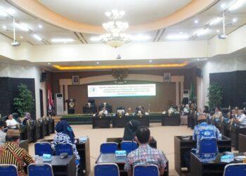 Rapat Gabungan DPRD Kota Gorontalo