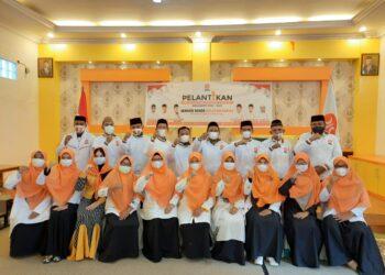 Jajaran pengurus PKS Kabupaten Boalemo Periode 2020-2025. (Foto : Istimewa).