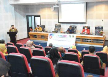 Marten Taha Saat menjadi Keynote Speaker pada kegiatan Workshop Pemajuan Kebudayaan di Universitas Hasanuddin Makassar.