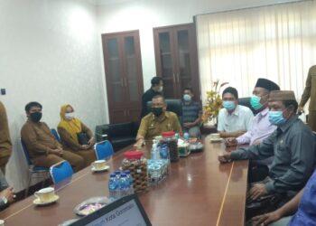 Kunjungan Wakil Bupati Toli-Toli kepada Wali Kota, dalam Rangka Silaturahim dan Bangun Kerjasama Pada Bidang Perdagangan