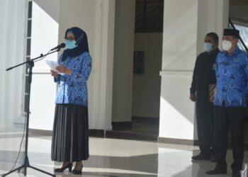 Pimpin Apel Pagi KORPRI, Ini Harapan Wakil Bupati Bone Bolango