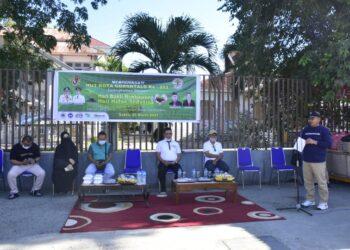 Sambutan Marten Taha pada kegiatan memperingati HUT Kota Gorontalo ke-293 yang dirangkaikan dengan Hari Bakti Rimbawa dan Hari Hutan Sedunia