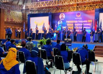 Pengukuhan DPC Kabupaten Blitar.(Foto :  Dwi/Prosesnews.id).