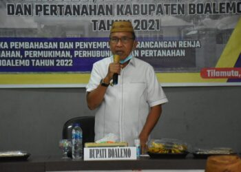 Plt Bupati Boalemo, Ir. Anas Jusuf M.Si. (Foto : Humas).