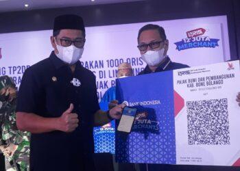 Launching TP2DD di Bonebol, Hamim Pou : Seluruh Layanan Pemerintah Berbasi Digital.