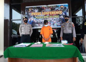 Pelaku Pencurian Mobil Lintas Provinsi Dibekuk Polres Bonebol
