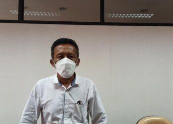 Ketua Komisi I DPRD Kabupaten Blitar, Sulistiono, saat ditemui seusai hearing bersama Forum Sekdes Kabupaten Blitar, Selasa (6/4/2021). (Foto : Istimewa).
