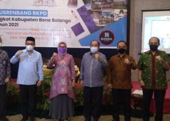 Buapati Hamim Pou Hadiri Musrenbang tingkat Kabupaten Bonebol (Foto : Istimewa)