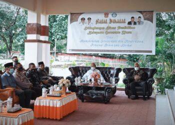 Halalbihalal Pemkab Gorontalo Utara. (Foto : Istimewa)