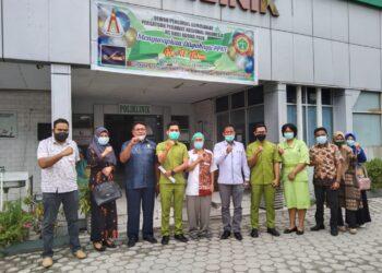 Jajaran Komisi II DPRD Boalemo ketika Studi Tiru di salah satu dari 3 Rumah Sakit yang dikunjungi di Kota Palu, Sulteng. (Foto : Istimewa)