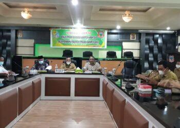 Pembahasan Pemulihan Ekonomi antara Pemkab Gorontalo bersama Forum CSR Kabupaten Gorontalo. (Foto : Istimewa)