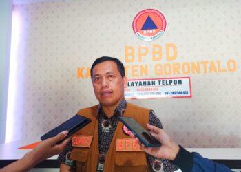 Kepala BPBD Kabupaten Gorontalo, Sumanti Maku. (Foto : Istimewa)