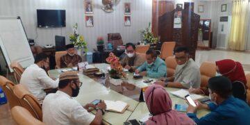 Pemkab Gorontalo membahas persiapan Festival Kabupaten Lestari. (Foto : hms kominfo)