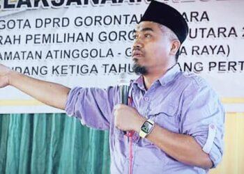 Wakil ketua DPRD Gorontalo Utara, Hamzah Sidik Djibran. (Foto : Istimewa)