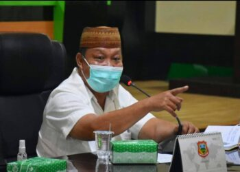 Asisten I Bidang Pemerintah Setda Kabupaten Gorontalo, Asri Tuna. (Foto : Humas Kominfo)