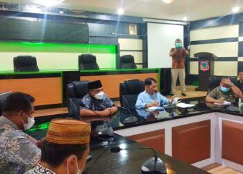 Rapat Pemkab Gorontalo. (Foto : Istimewa)