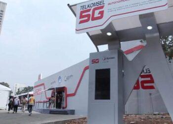 Telkomsel 5G Experience Center. Telkomsel