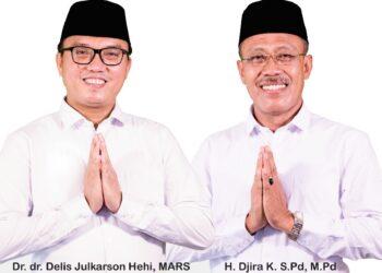 Bupati dan Wakil Bupati Morowali Utara yang bakal dilantik besok. (Foto : Istimewa)