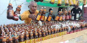 Penjual lampu Tumbilatohe