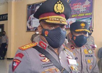 Kapolda Papua Inspektur Jenderal Mathius Fakhiri. ANTARA/Evarukdijati