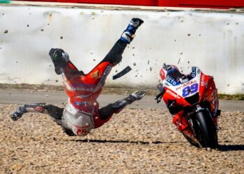 Klasemen MotoGP 2021, Quartararo Konsisten Masih di Depan/istimewa