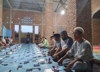 Safari Ramadan dan buka puasa bersama oleh PKS Boalemo, di Wilayah Kecamatan Paguyaman. (Foto : Istimewa)