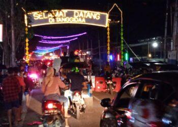 Potret pengguna jalan di Kota Gorontalo. (Foto : Istimewa)