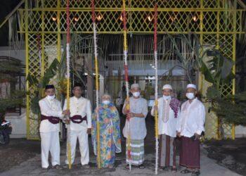 Pemkab Pohuwato menyambut malam Tumbilotohe dengan sederhana. (Foto : Humas)