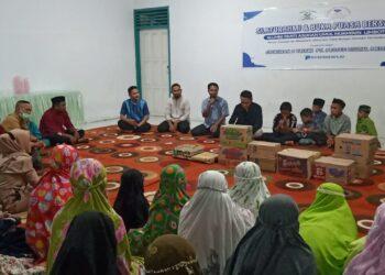 Doa syukuran momentum hari jadi ke 2 Media Prosesnews.id, bersama Anak-anak Panti Asuhan Umul Mukminin Limboto. (Foto : Istimewa)