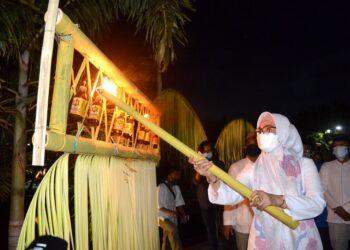 Tradisi Perayaan Tumbilotohe, Adalah Kali Pertamanya Dilakukan Wakil Bupati Bonebol.