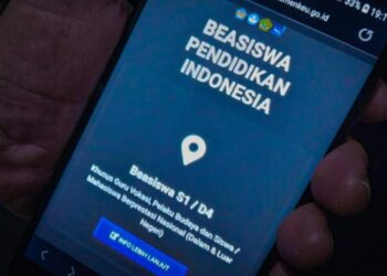 Layanan pendaftaran Beasiswa Pendidikan Indonesia di laman Kemenkeu. Bismo Agung