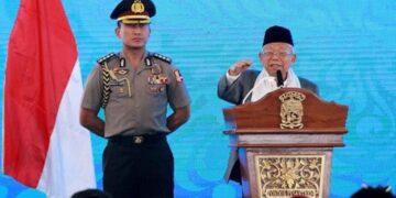 Wakil Presiden Ma'ruf Amin, yang juga tercatat sebagai Ketua Dewan Pembina Masyarakat Ekonomi Syariah menyambut baik terhadap pencapaian ekonomi syariah dan industri halal Indonesia yang tumbuh baik. ANTARA FOTO