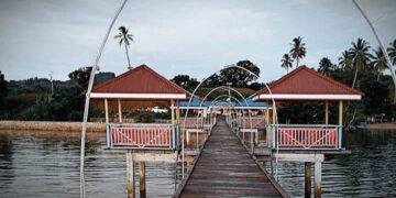 Destinasi Wisata Pantai Botudidingga Gorontalo Utara. (Foto : Istimewa)