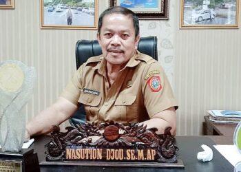 Kepala Dinas Perhubungan Gorontalo Utara, Nasution Djou. (Foto : Istimewa)