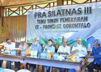 nelson Pomalingo (tengah) membuka Pra Silatnas III. (Foto : Istimewa)
