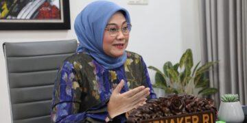 Menteri Ketenagakerjaan, Ida Fauziyah. (Foto : Infopublik)