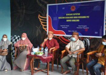 Anas Jusuf (tengah) ketika menjadi narasumber pada Dialog. (Foto : Istimewa)