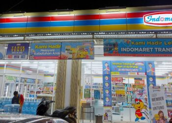 Indomaret Trans Paguyaman. (Foto : Istimewa)