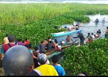 Proses evakuasi jasad korban